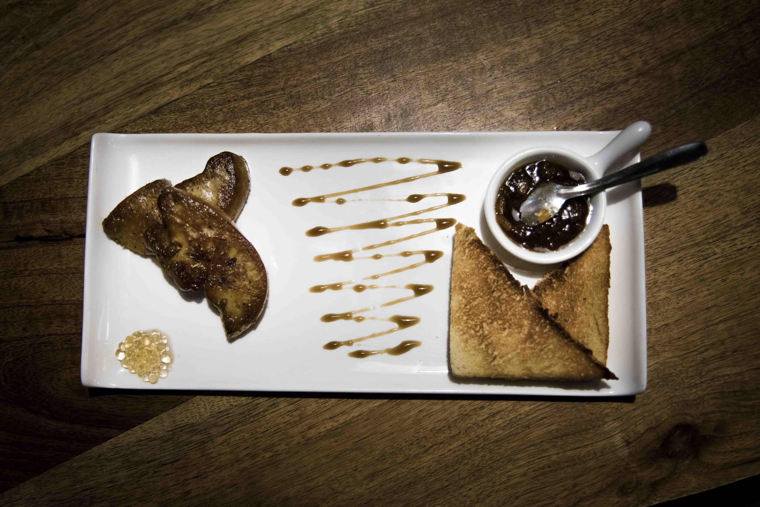 Escalopes de Foie gras poêlées