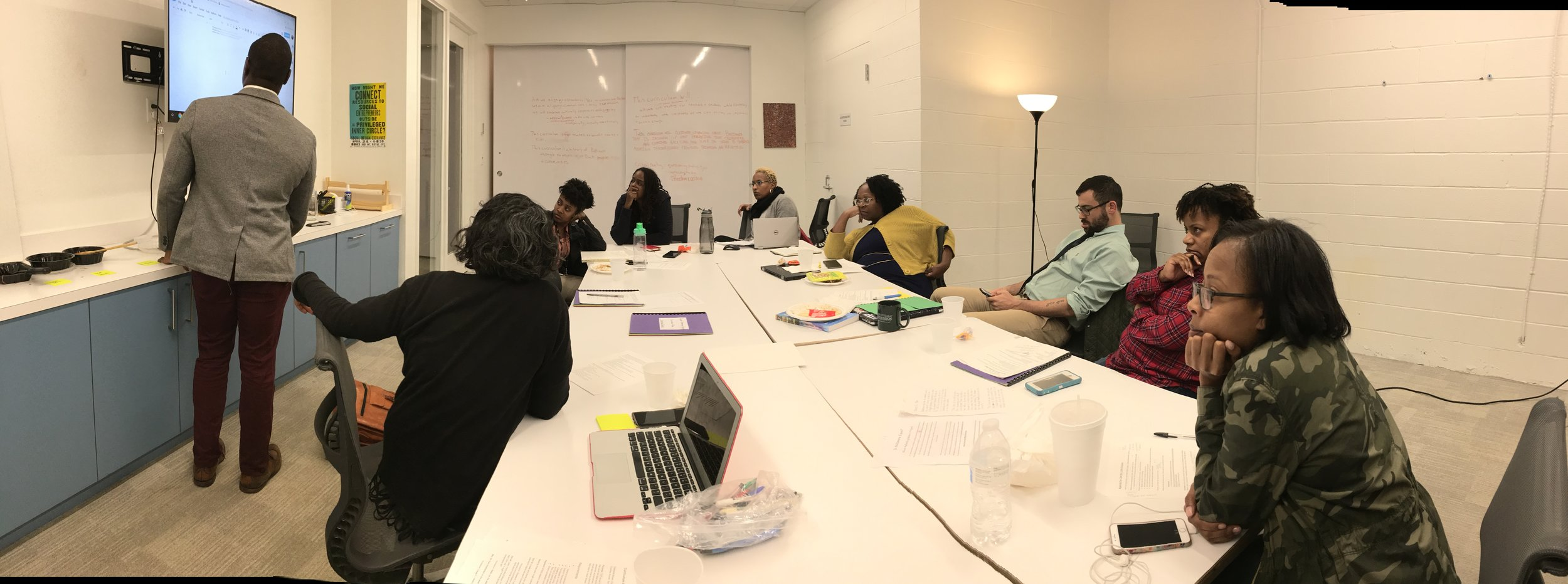 Teachers are writing week-long curriculum for the Black lives matter week of action which will be taught on February 3-10, 2019.