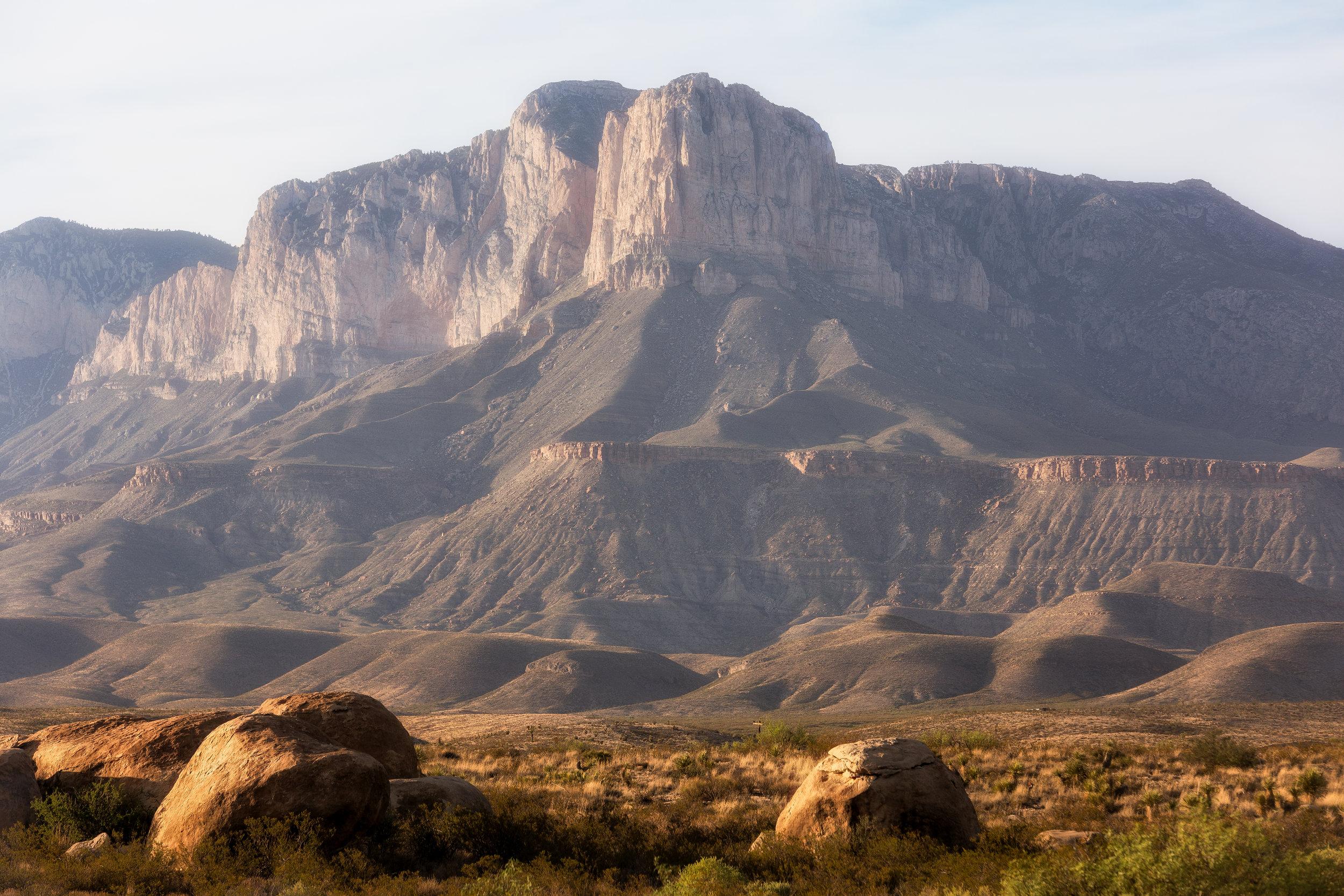 El Paso to Monahans - Guadalupe Mountains | Franklin Mountains | Hueco Tanks | Balmoreah | Monahans Sandhills