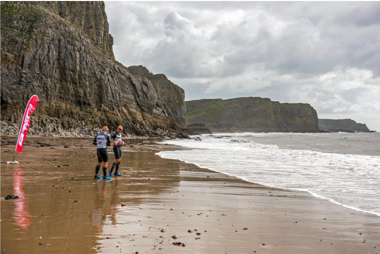 Breca Gower swimrun Great Tor