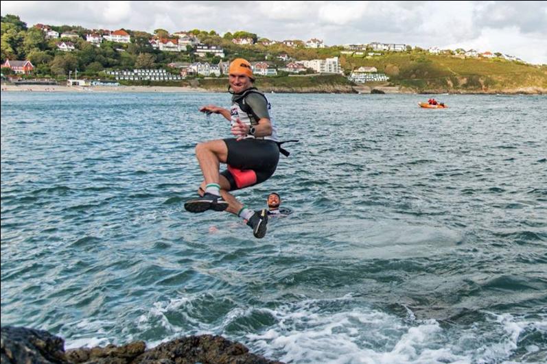 Breca Gower swimrun swim entry
