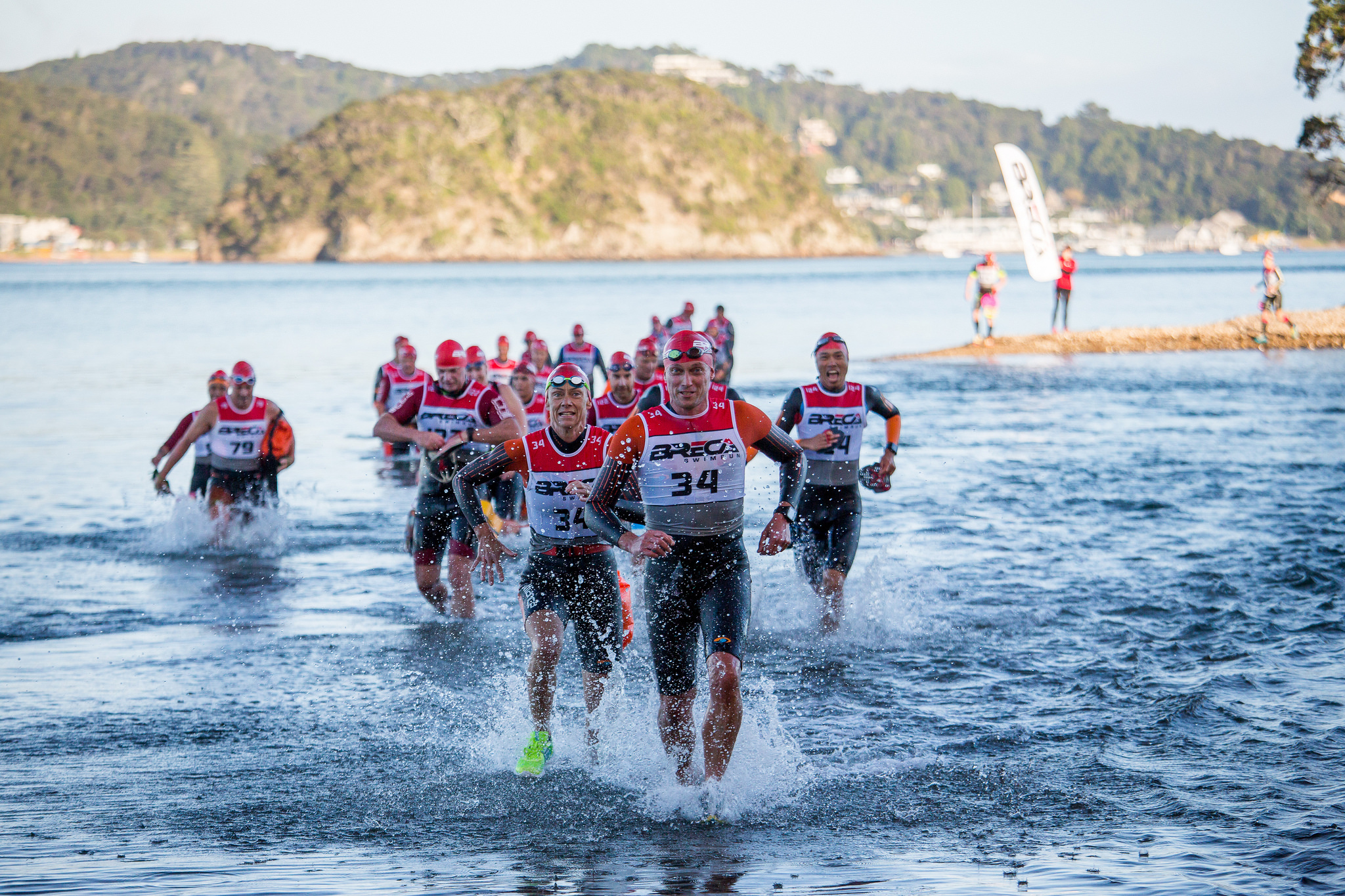 Register for Breca Bay of Islands 2019 - 14th April 2019, 37.3km swimrun. Sign up now to enjoy our early-bird rates!Early-bird 1: NZ$720 per teamEarly-bird 2: NZ$740 per teamEarly-bird 3: NZ$760 per teamLate registration: NZ$780 per teamEntry fees are for a team of two+3.75% Trumin processing fee for all tiers; includes GST