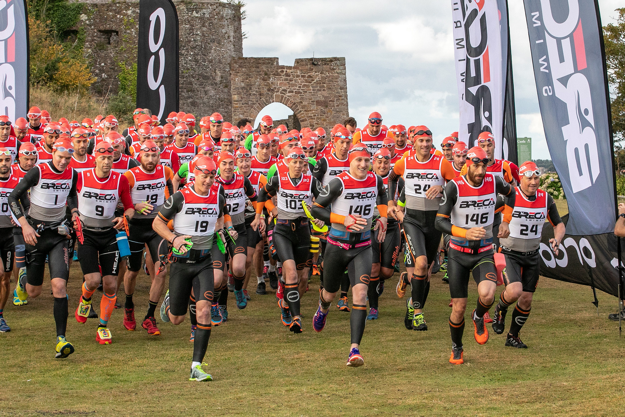 Sign up for the Breca Jersey Sprint 2019 - 7th September 2019, 19km swimrun. Sign up now to enjoy our early-bird rates!Early-bird 1: £225 per team (Ends 1st March 2019)Early-bird 2: £240 per team (Ends 30th April 2019)Early-bird 3: £255 per teamEntry fees are for a team of two+3.75% Trumin processing fee for all tiers