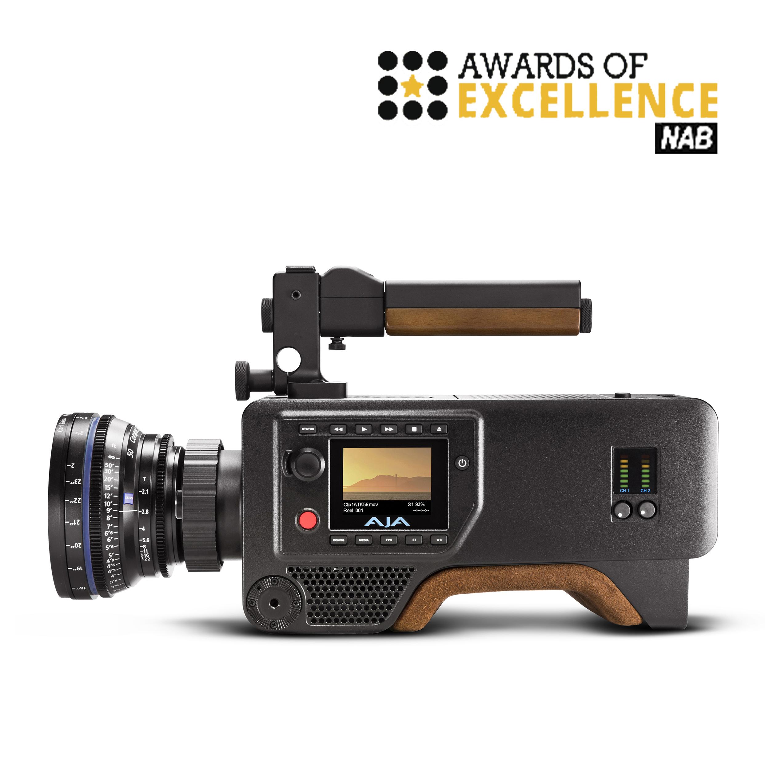 AJA Cion 4K Production Camera   National Association of Broadcasters (NAB) Awards – Award or Excellence