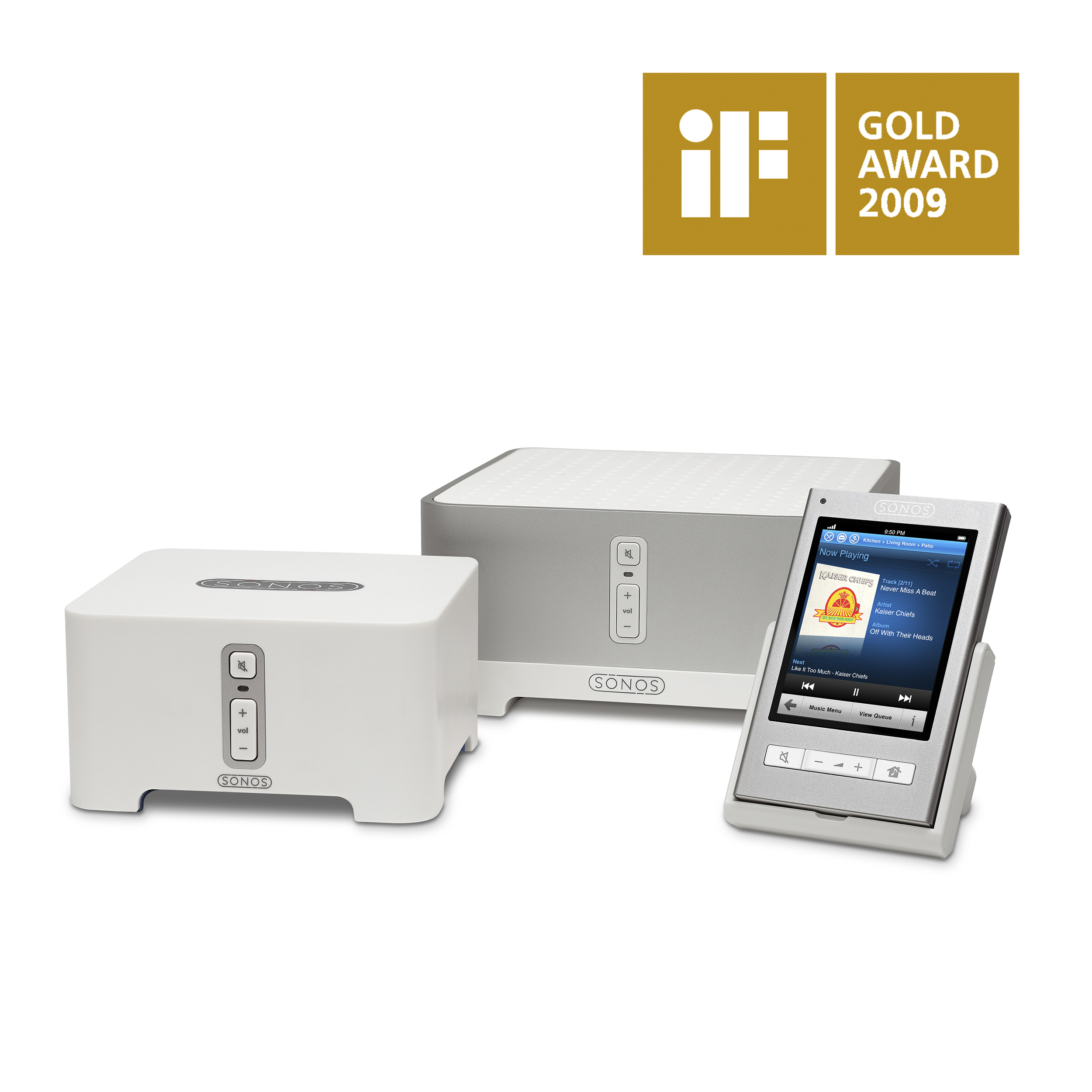 Sonos Multi-Room Music System   iF Design Award - Gold