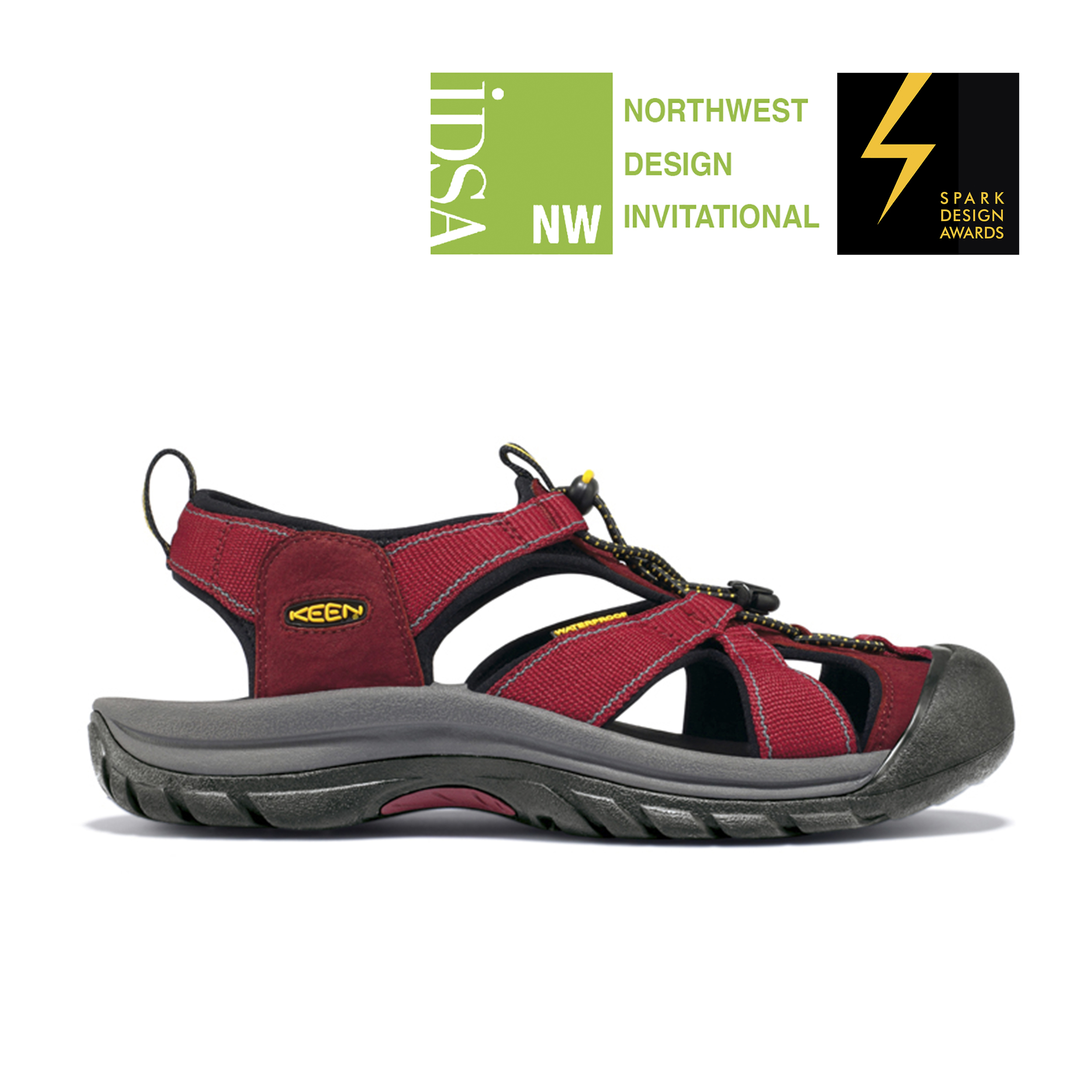 Keen Venice Hybrid Sandal   IDSA Northwest Design Invitational Spark Awards