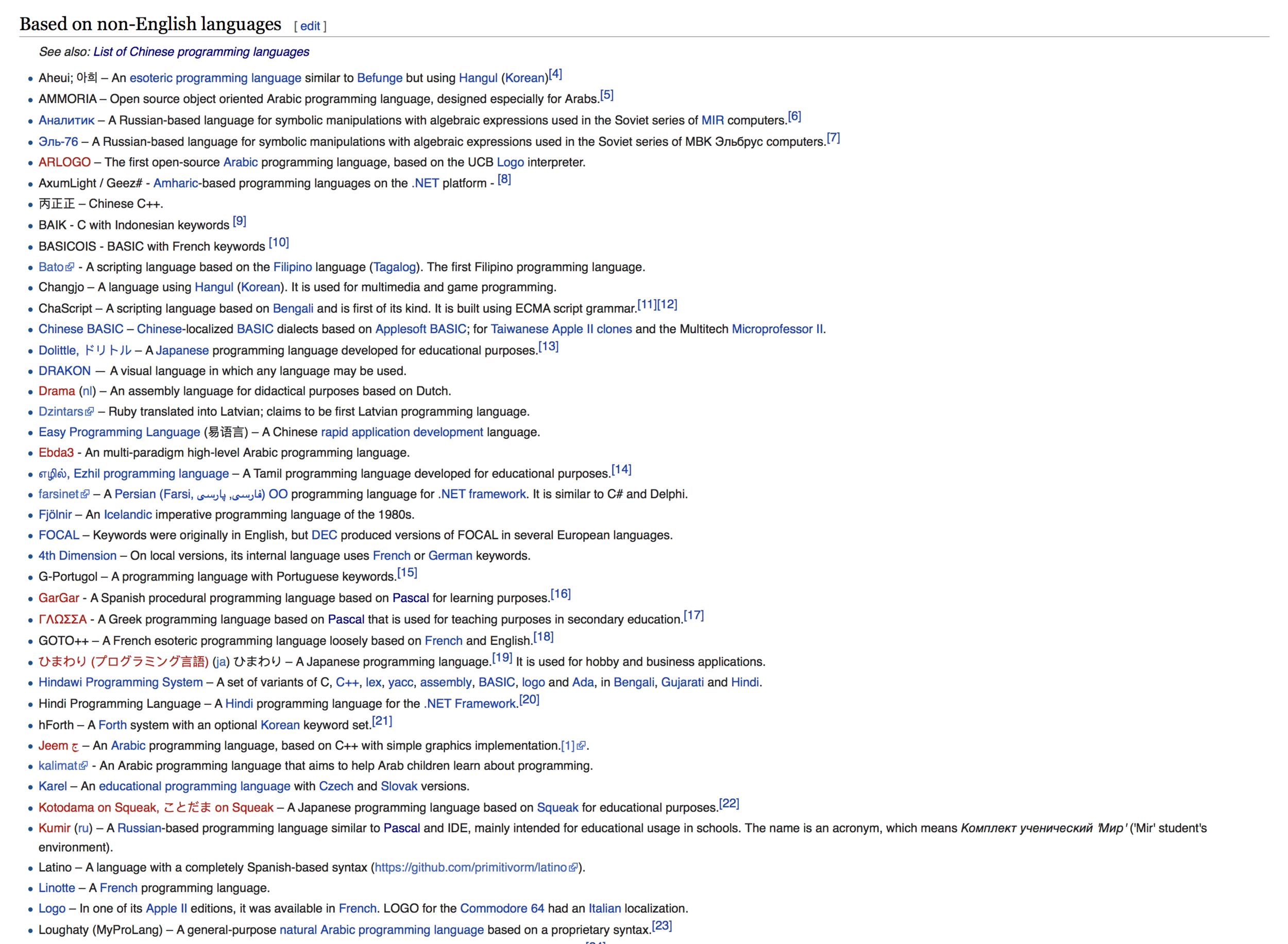 List of non-English programming languages - Wikipedia