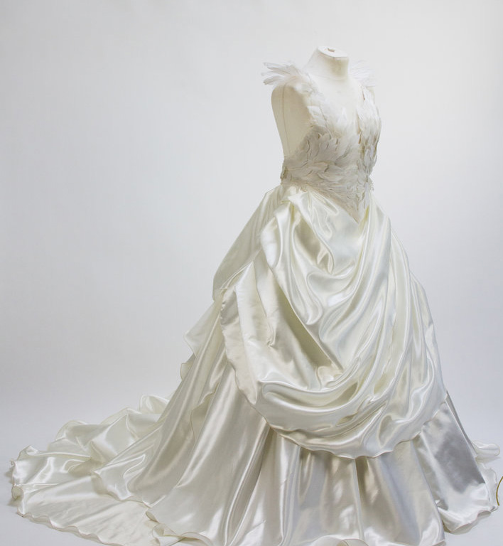 Satin Swan Bride