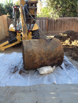 San Jose Heating Oil UST Removal