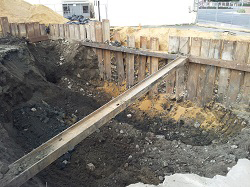 TPH and Lead Soil Remediation – Shoring