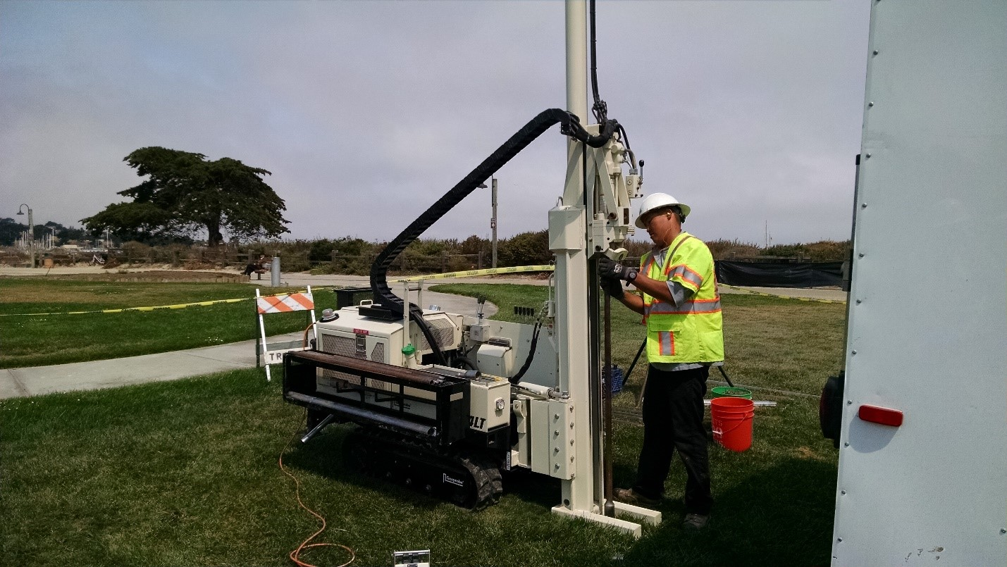 DIRECT PUSH DRILLING USING TRACK MOUNTED EQUIPMENt