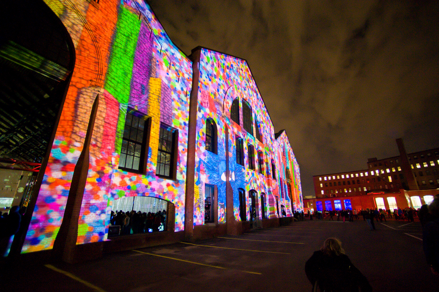 Boston Illuminus Projection