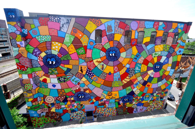 Mural for Beyond Walls, Lynn, MA 2017