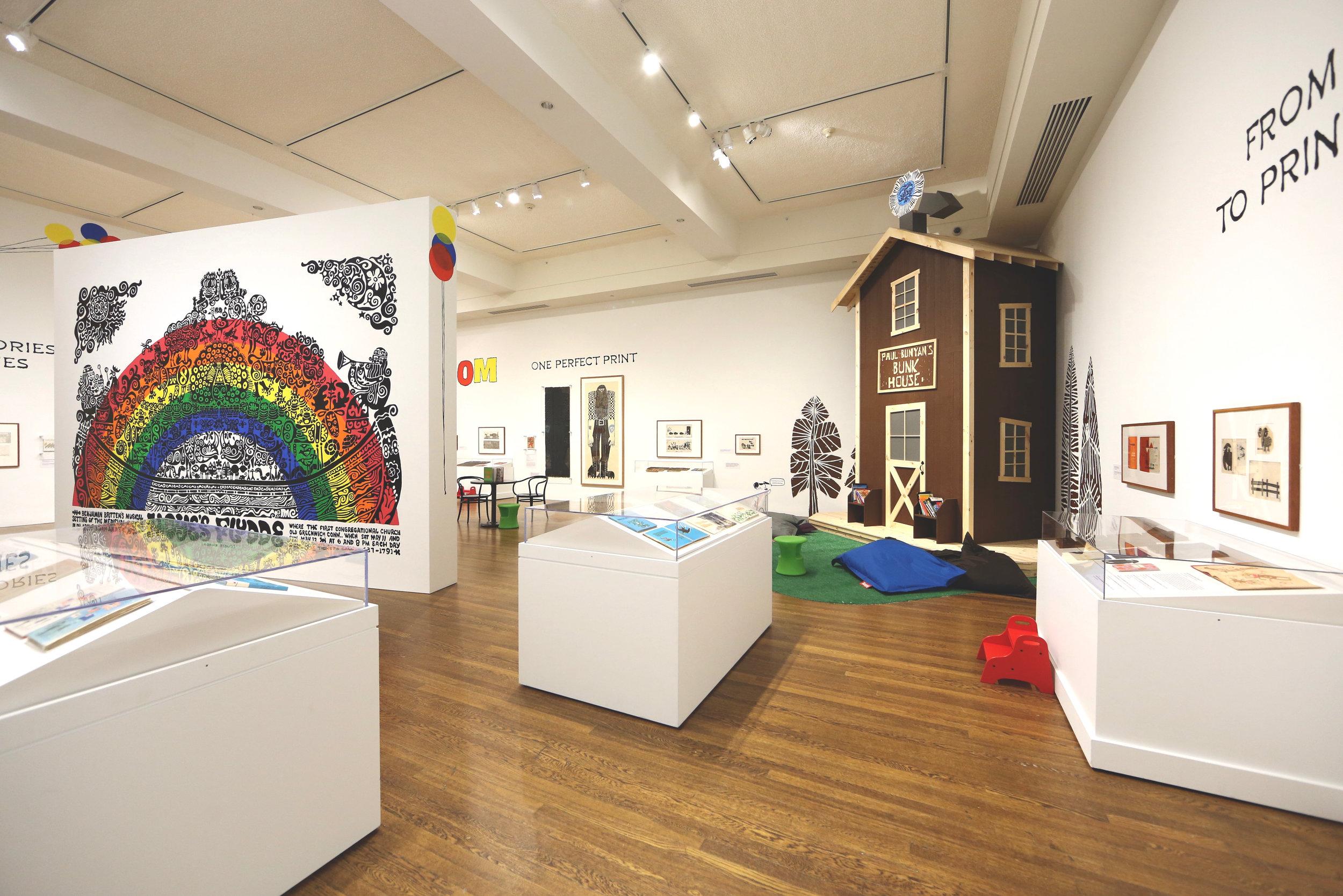 Kahbahblooom: The Art and Storytelling of Ed Emberley, Worcester Art Museum, 2016