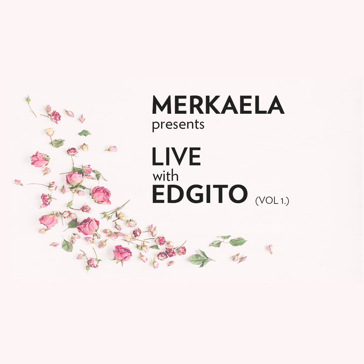 COVER ART FOR   LIVE with EDGITO   Vol. 1