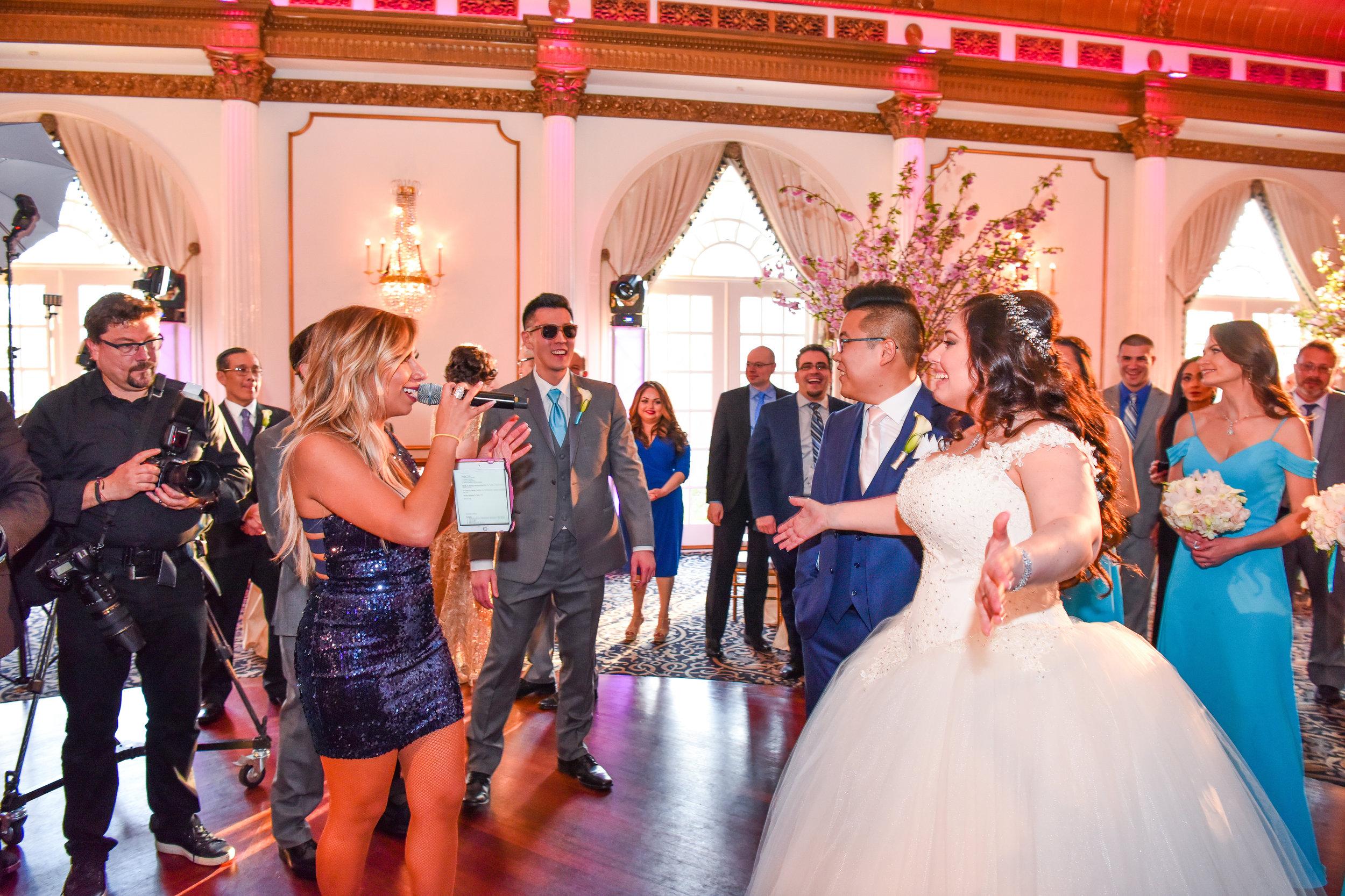 Alex Edge Crystal Playza NJ Wedding JBL VRX System