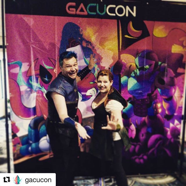 #Repost @gacucon with @get_repost ・・・ We've got @librarybards in the House! GACUbash.com