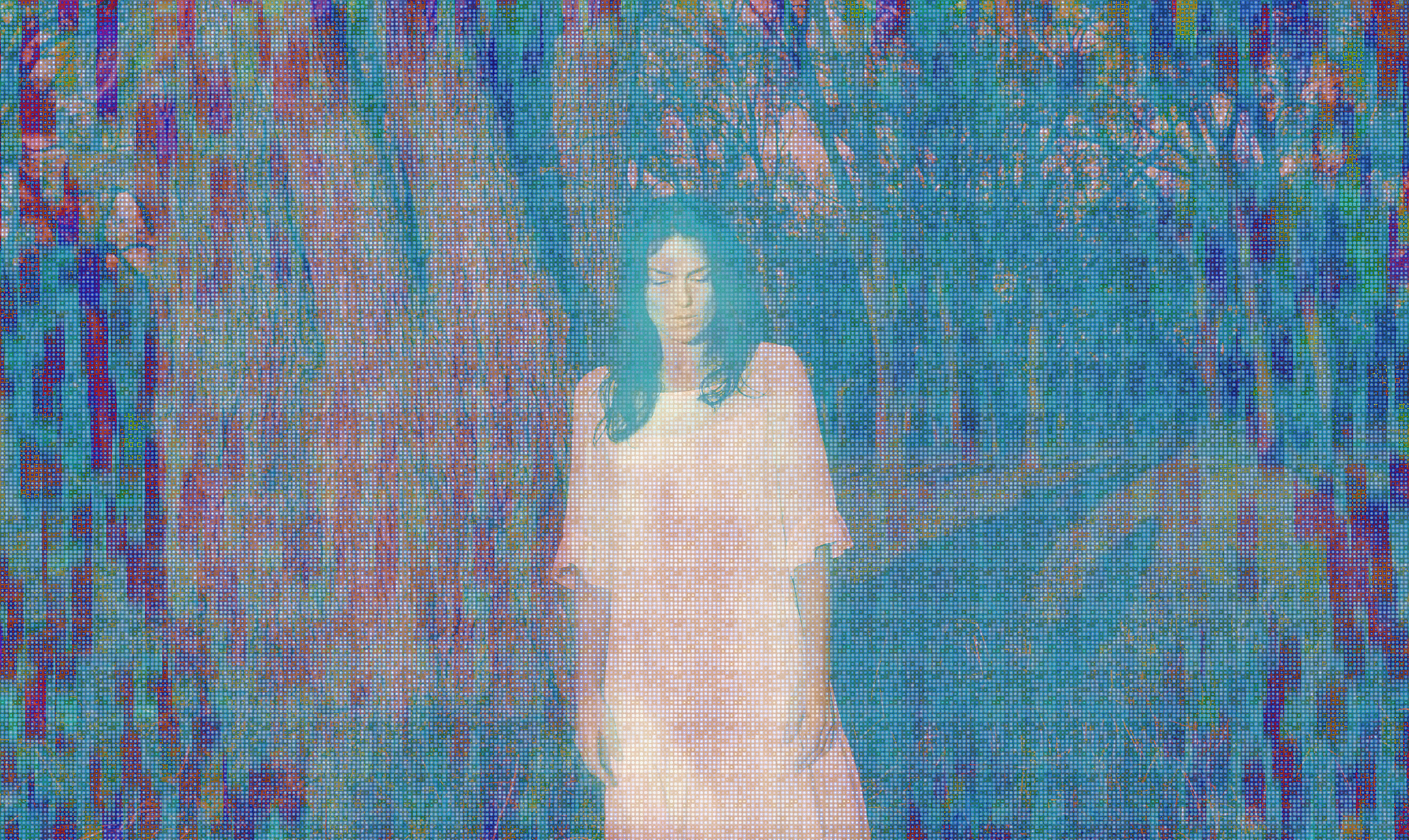 The Magician (Blue Version)2015  Limited Edition Pigmented Archival Print  22 x 36.8 in  1/22  printed by Red River, OKC USA