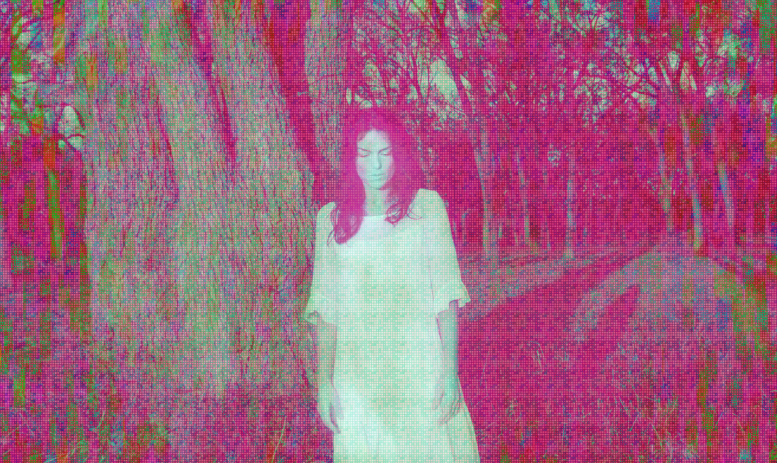 The Magician (Pink Version)2015  Limited Edition Pigmented Archival Print  22 x 36.8 in  1/22  printed by Red River, OKC USA
