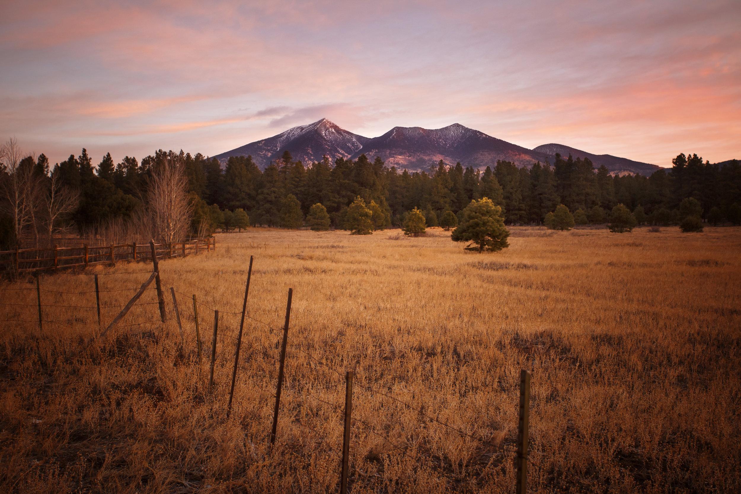 Humboldt Peak at Dawn