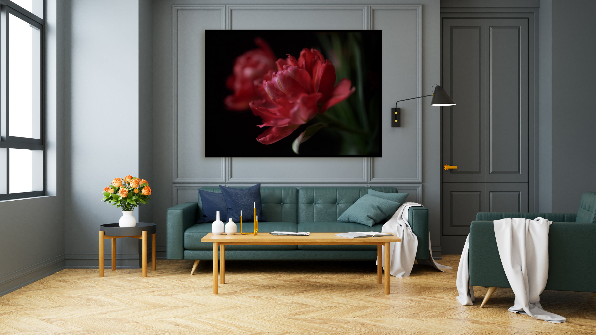 green-living-room-with-floral-art-print-interior-design.jpg