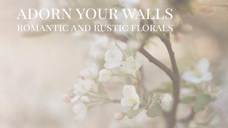 Rustic Floral Prints