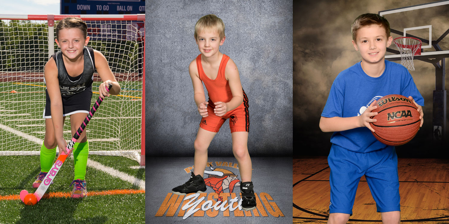 Player Portraits   Extensive selection of custom photo products available   Reserve your photo day date