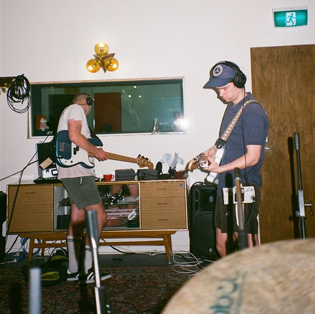"""Yesterday we released """"Ethereal Whooshing"""" from our album coming out early next year. We had the best time recording and spent a lot of time on it with @aidanhogg and @trimsteven If you wanna here it on @triple_j , request it on ☎️0439757555 ☎️"""