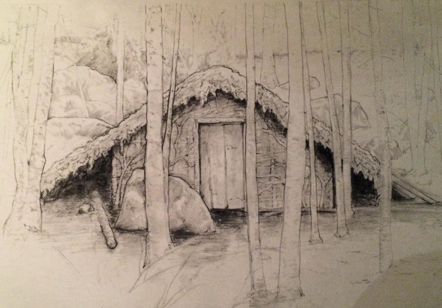 Sketch - Witch's Hovel