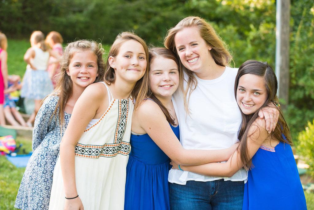 Girls Camp Western NC