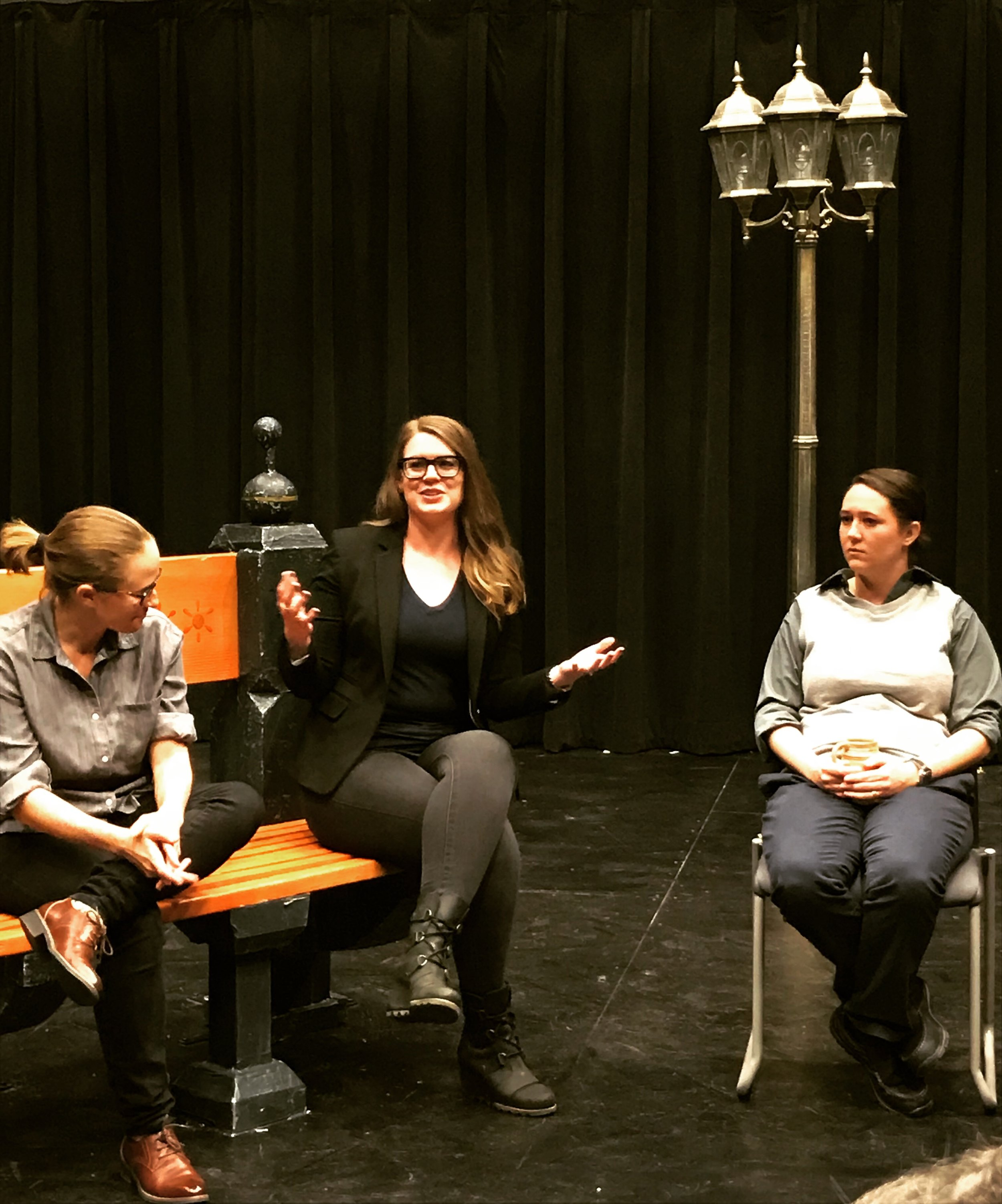 Sharing a philosopher's perspective after Graceland University's performance of  The Zoo Story  by Edward Albee