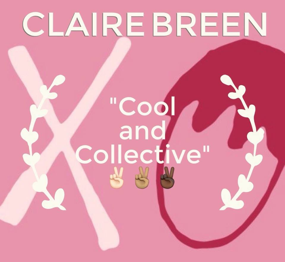 "Claire, we gave you the ""Cool and Collective"" award because you're the raddest chick in this group! We wanted to honor the ""coolness"" you bring to this podcast, with your indie song suggestions and your DIY vibes. But even more importantly, we wanted to highlight your collective spirit. You ensure that our podcast is inclusive to everybody, and your love and compassion for all identifies is inspiring. You remind us every day that to be a feminist means to fight for the collective good of ALL people and we LOVE you for that!"