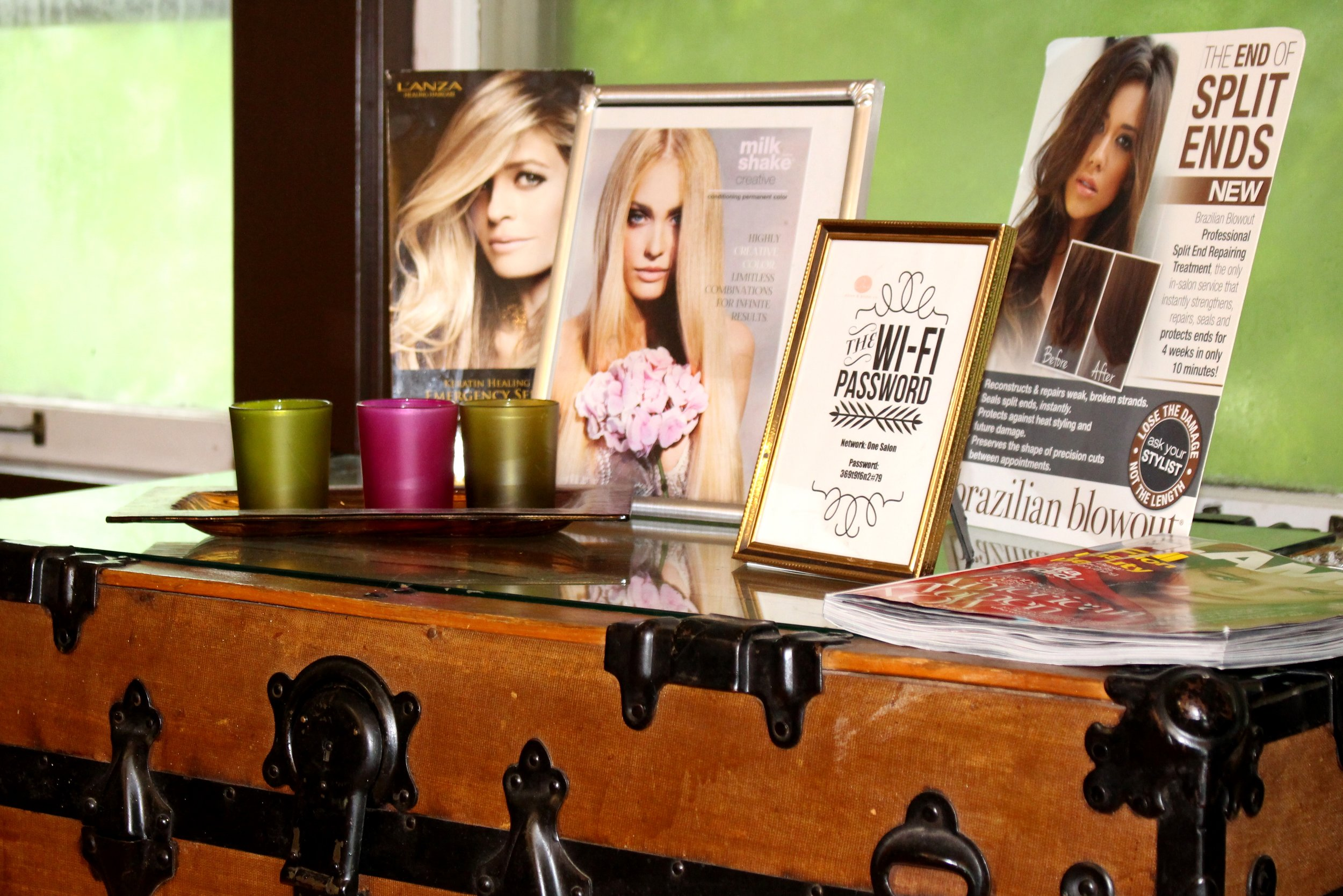 One Salon Trunk