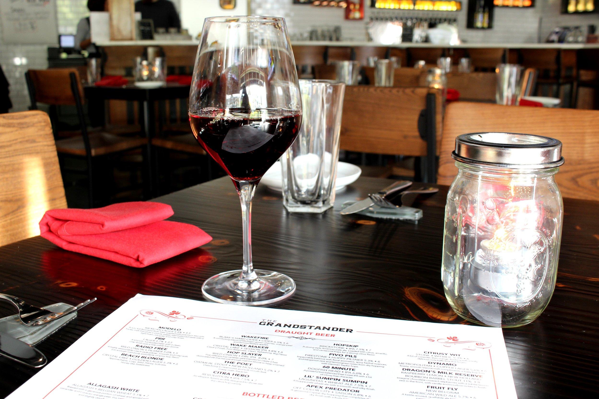 The Grandstander Wine