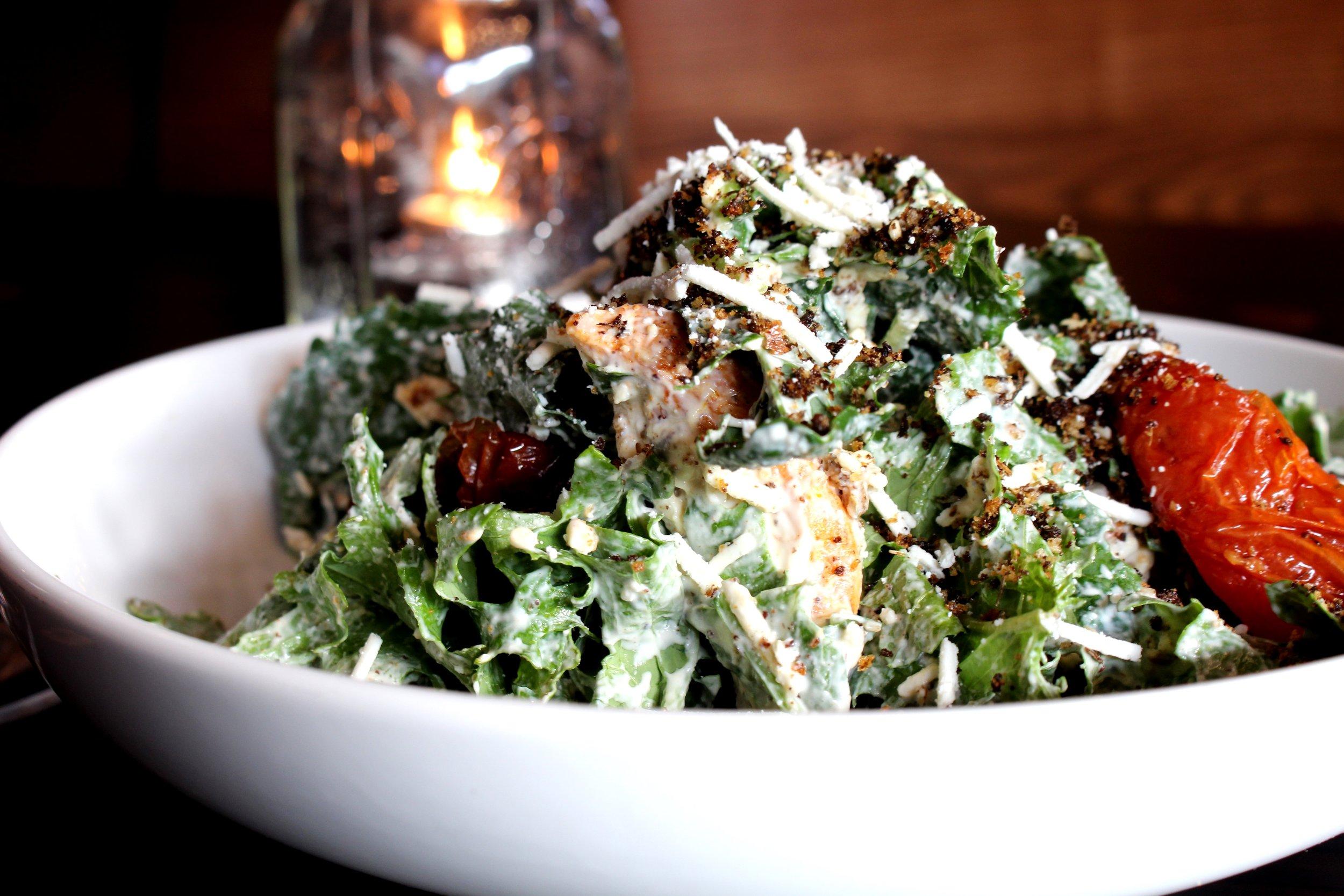 Heart Kale Smoked Chicken Salad