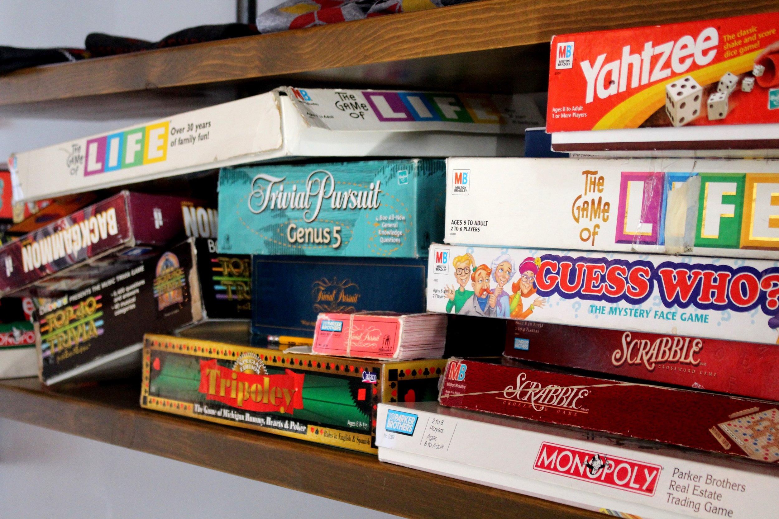 Penrose Board Games