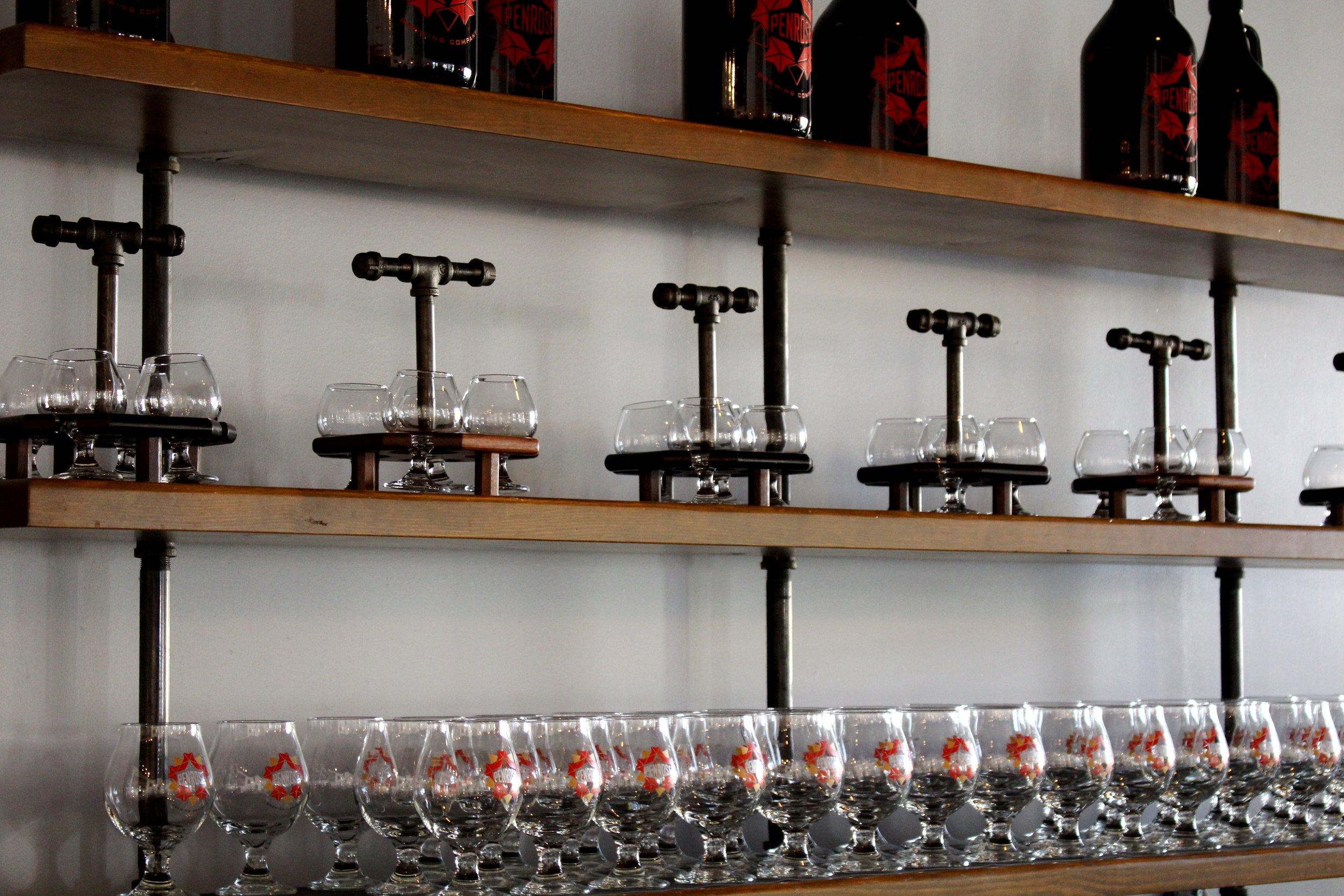Penrose Bar Shelves