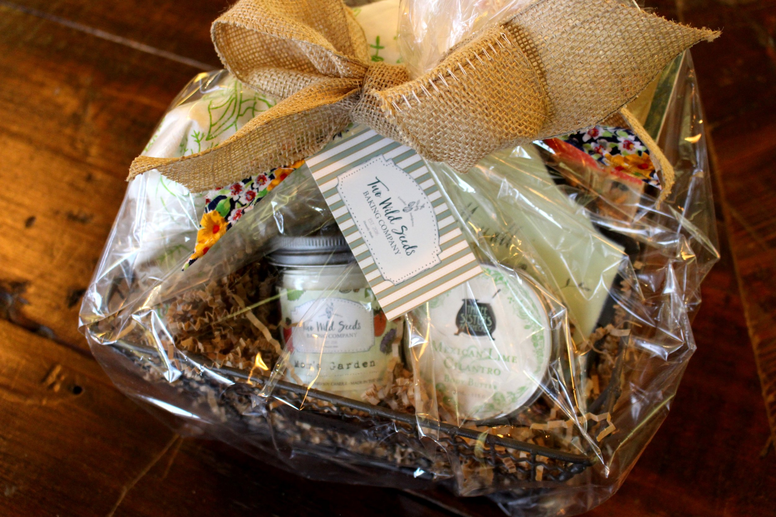 Two Wild Seeds Gift Basket