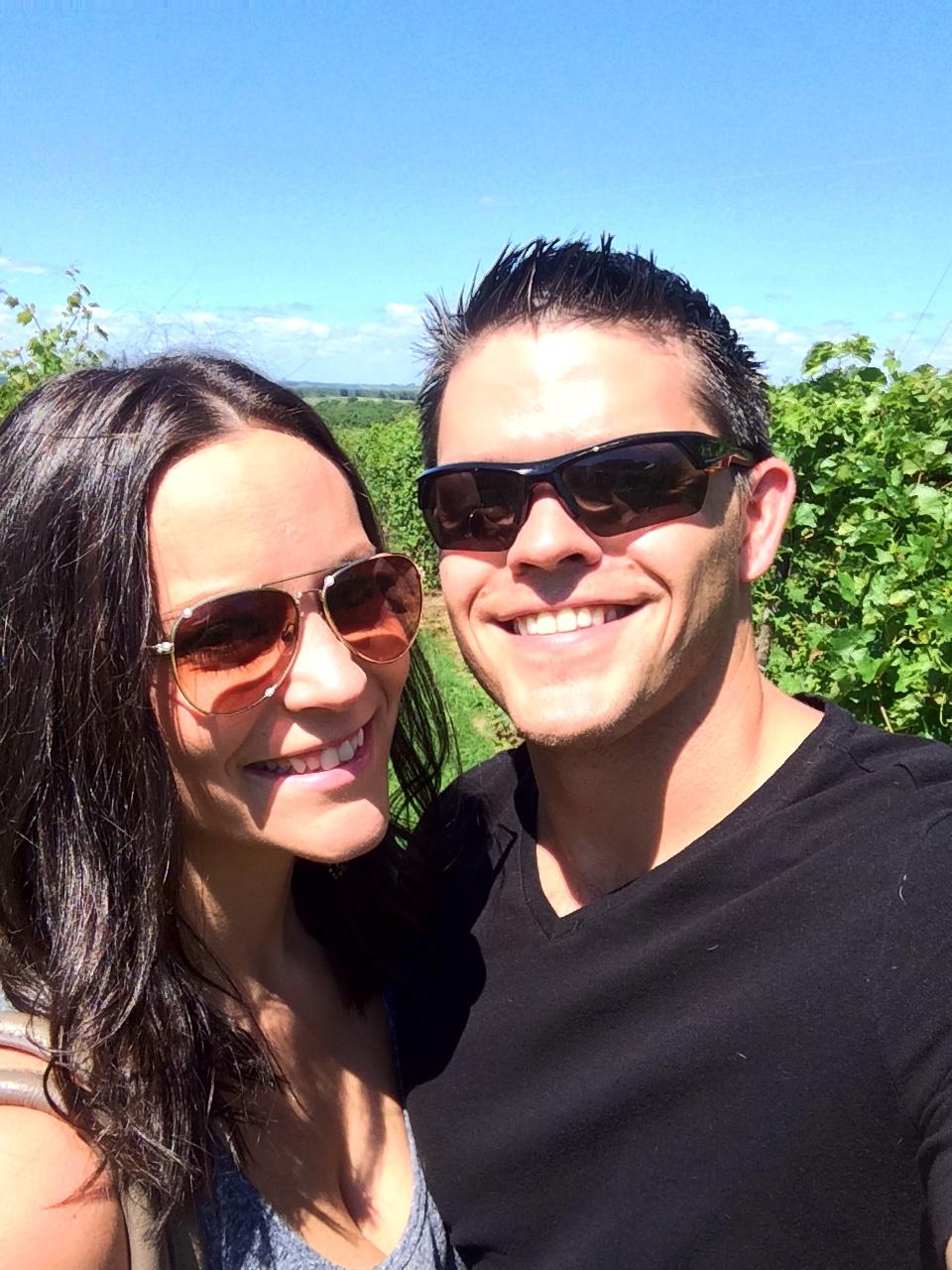 Galena Vineyards Ryan and Laura