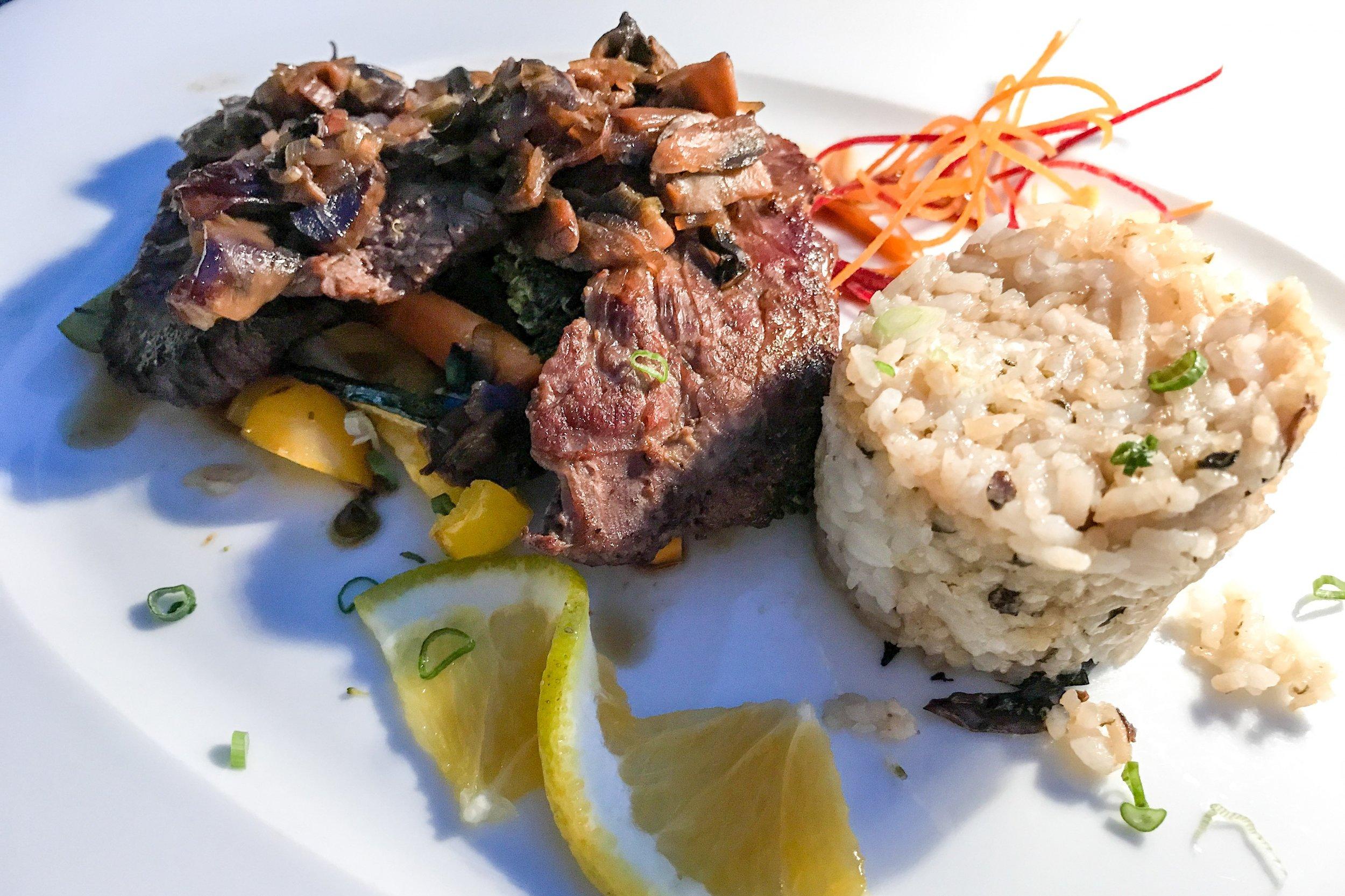 Dinner at Pescados at Pueblo Bonito Pacifica