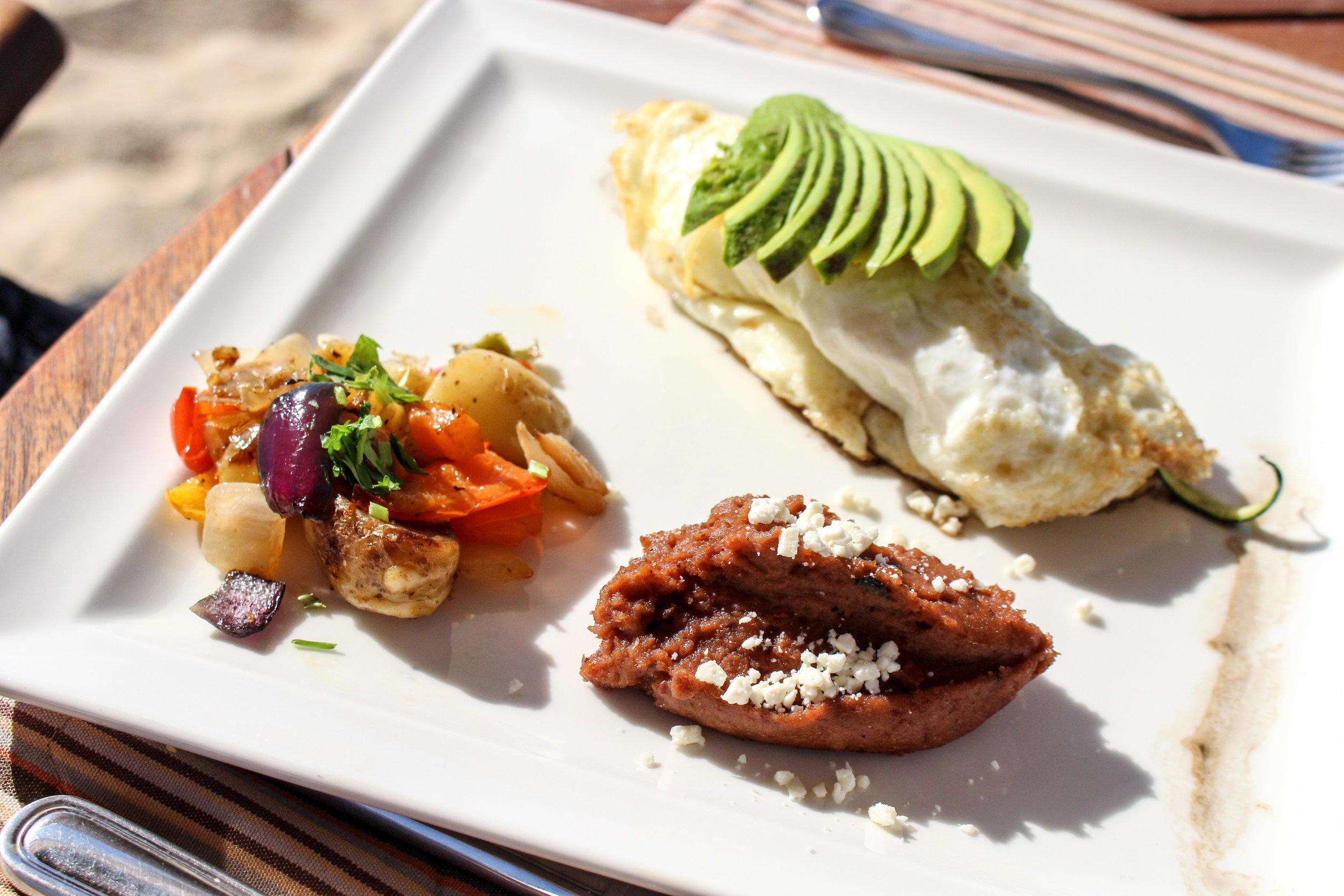 Breakfast on the Beach at Pueblo Bonito Pacifica