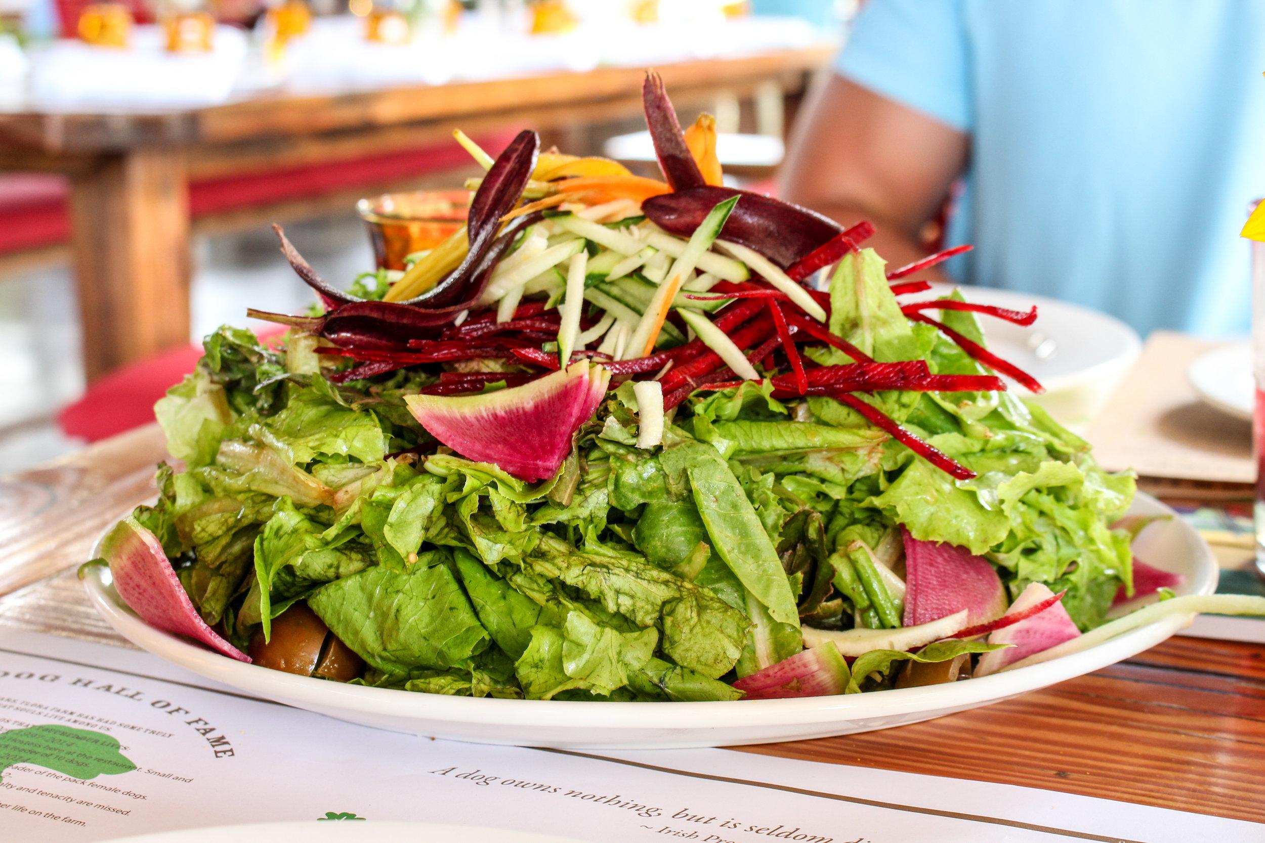 Flora Farms Kitchen Salad