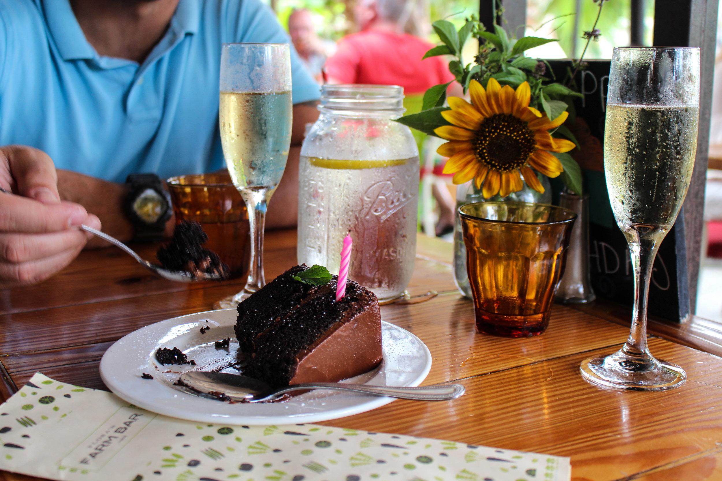 Flora Farms Kitchen Birthday Cake