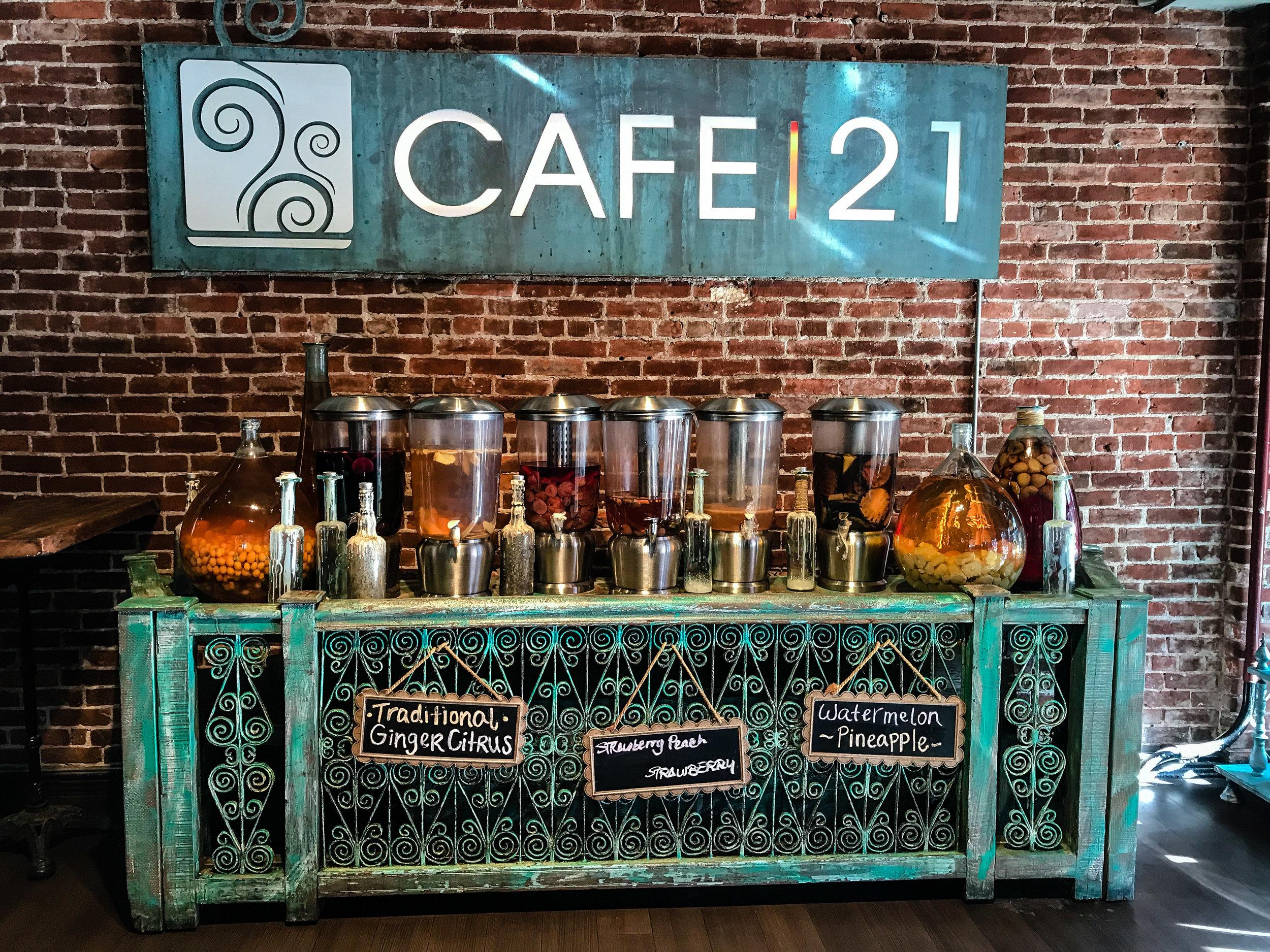 Cafe 21 San Diego Gaslamp