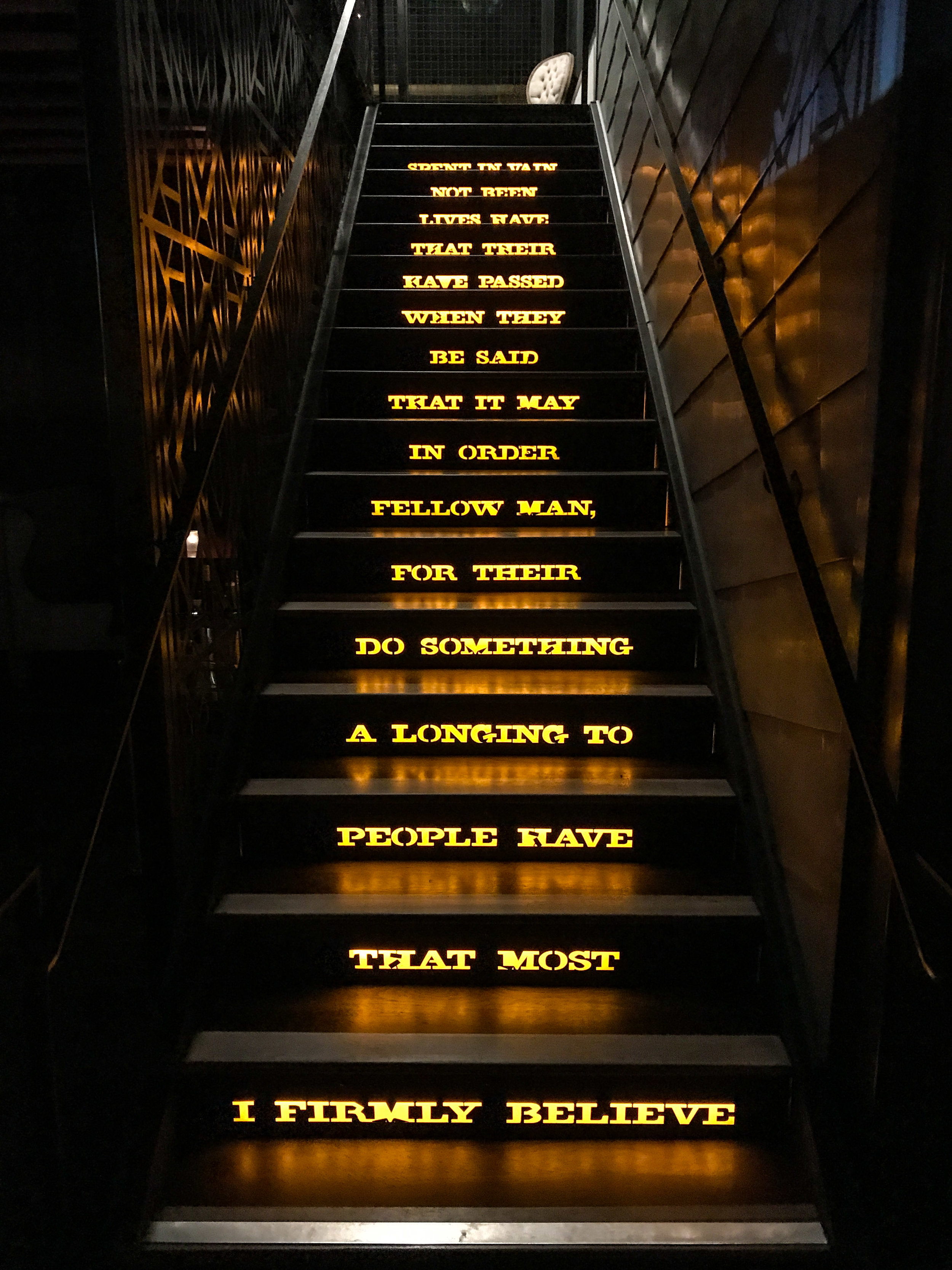 The Kettner Exchange Stairs San Diego