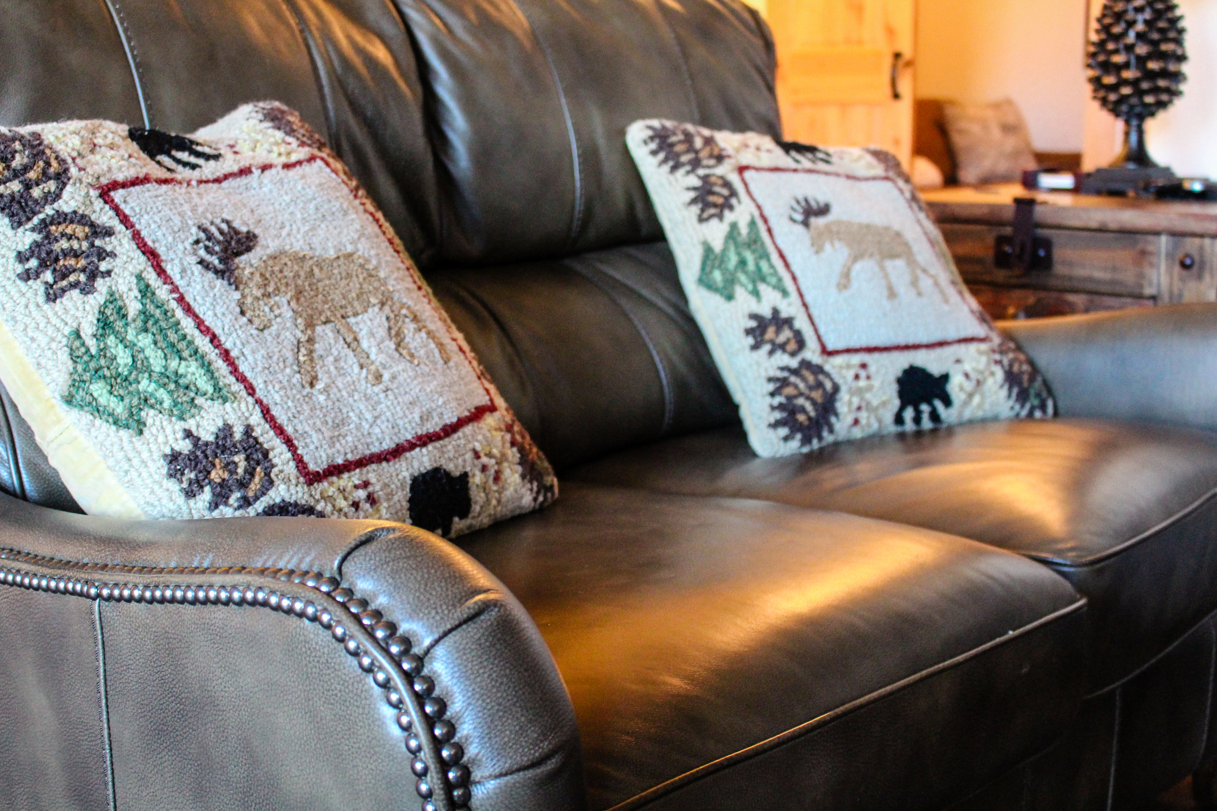 Winter Park Lodging Company Couch