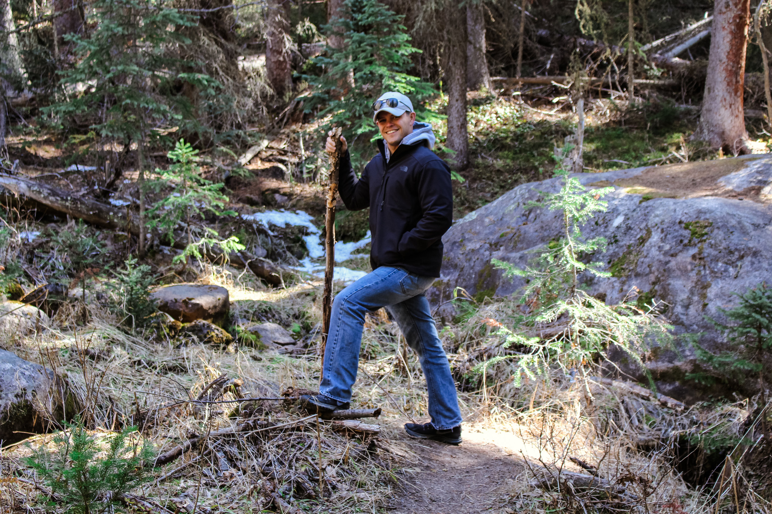 Ryan in Rocky Mountain National Park