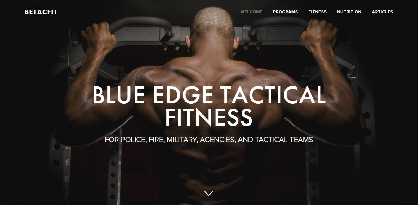 BLUE EDGE TACTICAL FITNESS