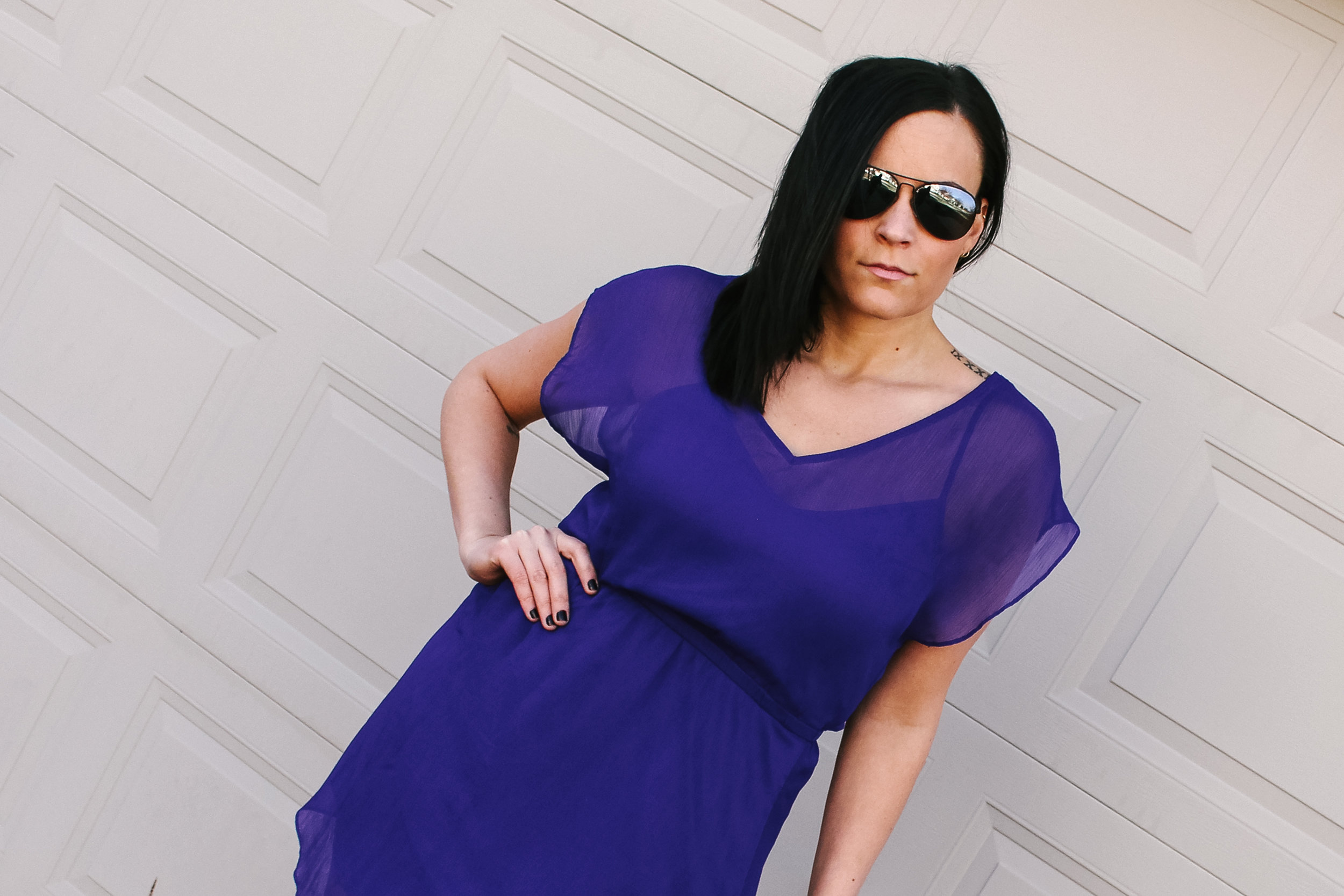 LSS Purple Dress