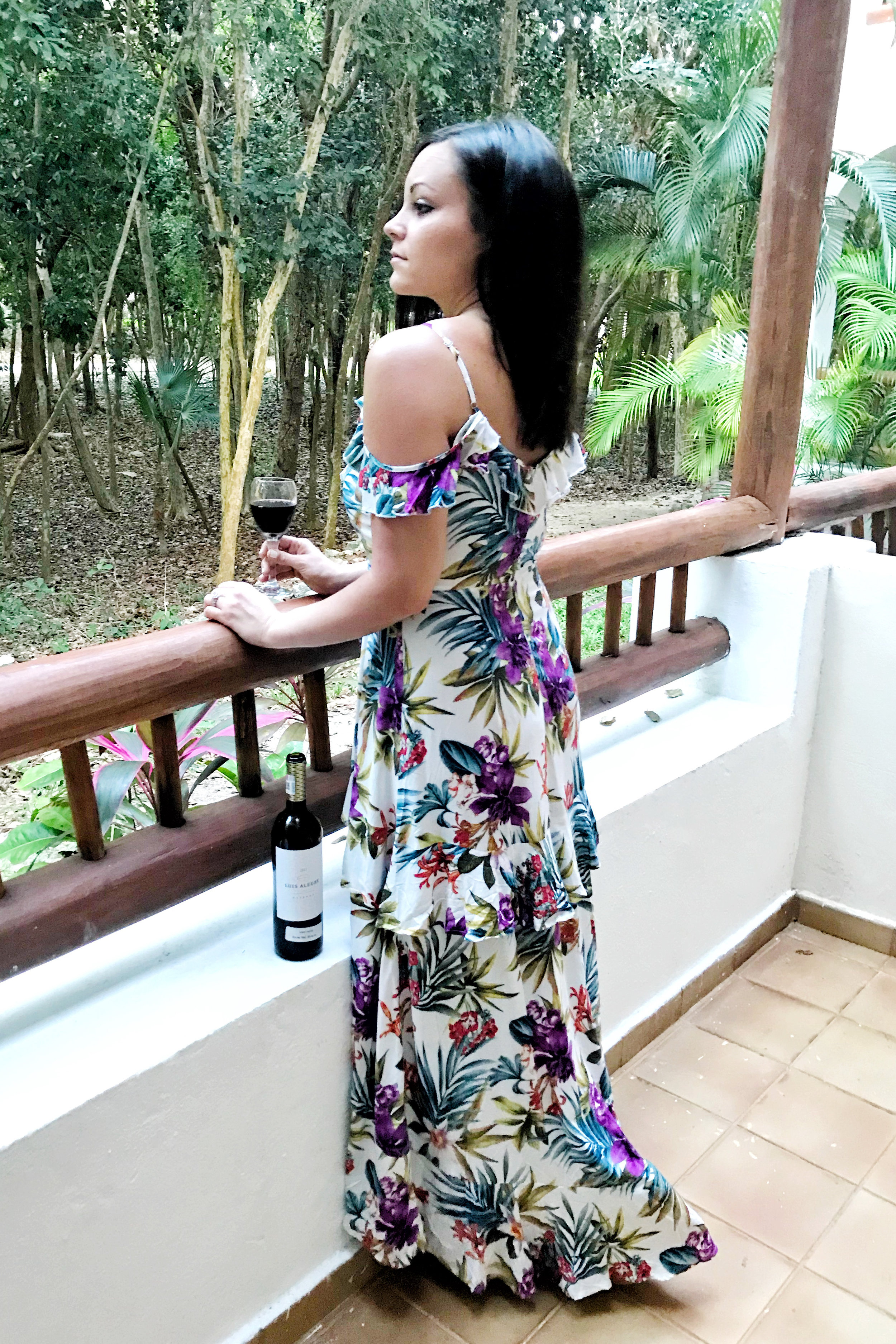 Laura Swan Sieckman - Forever 21 Floral Dress